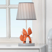 Load image into Gallery viewer, Bedtime Originals Acorn Lamp with Shade & Bulb, Orange