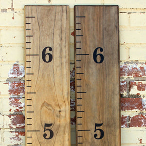 Little Acorns DIY Vinyl Growth Chart Ruler Decal Kit - zingydecor