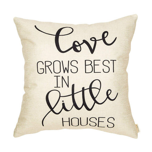 Always Stay Humble and Kind Farmhouse Style Motivational Quote Cotton Linen Home Decorative Throw Pillow Case Cushion Cover for Sofa Couch 18 x 18 in - zingydecor