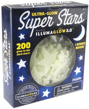 Load image into Gallery viewer, Kangaroo's Ultra Glow in the Dark Stars; 200 Count w/ Bonus Moon