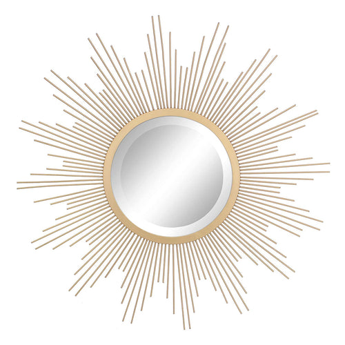 Stonebriar Sunburst Wall Mirror, Gold