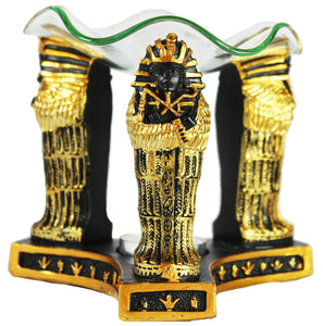 Decorative Egyptian Sarcophagus Oil Warmer/Burner