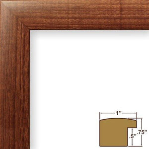 Craig Frames 1WB3BK 20 by 27-Inch Wall Decor Frame, Smooth Finish, 1-Inch Wide, Matte Black