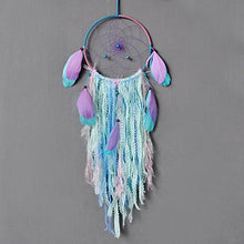 Load image into Gallery viewer, Ricdecor Indian Dream catcher Wind Chimes Feather Pendant wall hanging home decoration - zingydecor