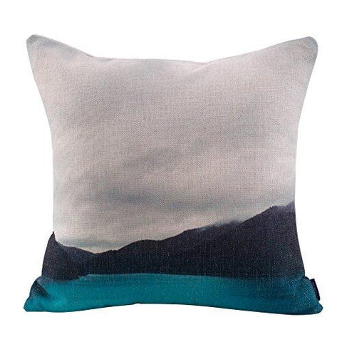 Image of JES&MEDIS Forest Scenery Style Cotton Linen Throw Pillow Case For Home Sofa