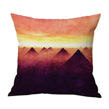 Load image into Gallery viewer, JES&MEDIS Forest Scenery Style Cotton Linen Throw Pillow Case For Home Sofa