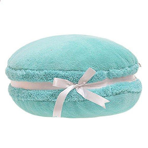 ChezMax Creative Macaron Shaped Cushion Plush Round Pillow Decorative Throw Pillow 14.5'' - zingydecor
