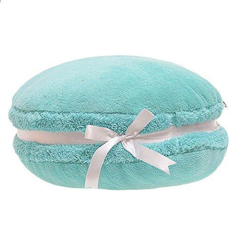 Image of ChezMax Creative Macaron Shaped Cushion Plush Round Pillow Decorative Throw Pillow 14.5'' - zingydecor