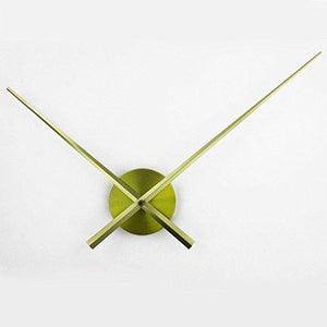 3D Clock Hands, Timelike DIY Large Clock Hands Needles Wall Clocks 3D Home Art Decor Quartz Clock Mechanism Accessories (Black) - zingydecor