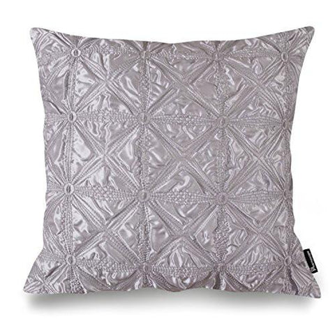 "Image of Phantoscope Decorative New Luxury Series Merino Style White Fur Throw Pillow Case Cushion Cover 18"" x 18"" 45cm x 45cm"