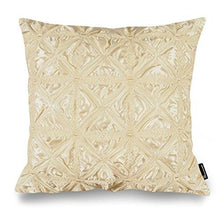 "Load image into Gallery viewer, Phantoscope Decorative New Luxury Series Merino Style White Fur Throw Pillow Case Cushion Cover 18"" x 18"" 45cm x 45cm - zingydecor"