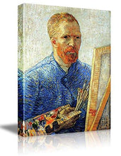 "Load image into Gallery viewer, Wall26 Starry Night by Vincent Van Gogh - Canvas Wall Art Modern Home Decor Bedroom and Living Room Decorations Oil Painting Reproduction - 16"" x 20"""