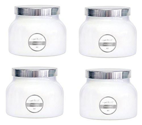 Capri Blue CB705VOL Volcano Jar Candle, 20 Oz, White - zingydecor