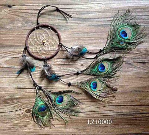 Image of Ricdecor Indian Dream catcher Wind Chimes Feather Pendant wall hanging home decoration - zingydecor