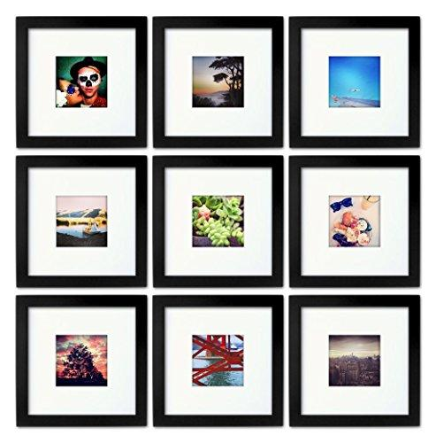 Tiny Mighty Frames - Wood, Square, Instagram, Photo Frame, 4x4 (Mat ...