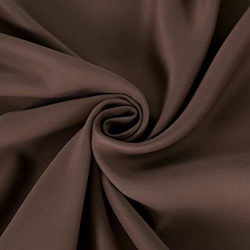 Deconovo Room Darkening Thermal Insulated Blackout Grommet Window Curtain for Living Room, 42x63-inch,1 Panel