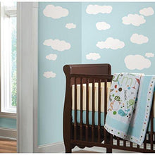 Load image into Gallery viewer, RoomMates RMK1562SCS Clouds (White Bkgnd) Peel and Stick Wall Decals - zingydecor