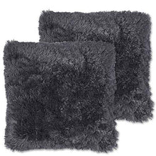Load image into Gallery viewer, Sweet Home Collection Plush Pillow Faux Fur Soft and Comfy Throw Pillow (2 Pack) - zingydecor