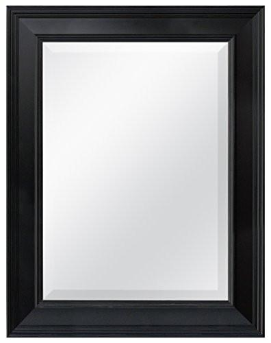 MCS 20450 15.5 by 21.5-Inch Beveled Mirror with 21.5 by 27.5-Inch Frame, White