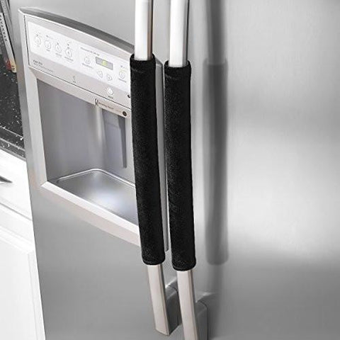 Ougar8 Refrigerator Door Handle Covers,Keep Your Kitchen Appliance Clean From Smudges, Fingertips, Drips, & Food Stains, Perfect For Dishwashers(Gray)