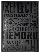 Load image into Gallery viewer, MCS 100 Pocket Big Max Embossed Memories Album, Black - zingydecor