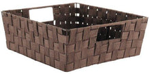 Load image into Gallery viewer, Whitmor Woven Strap Shelf Storage Tote - zingydecor