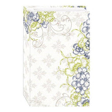 3-Ring Photo Album 504 Pockets Hold 4x6 Photos, Floral Panes Design - zingydecor