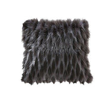 Load image into Gallery viewer, OJIA Deluxe Home Decorative Super Soft Plush Mongolian Faux Fur Throw Pillow Cover Cushion Case (18 x 18 Inch) - zingydecor