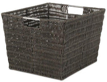 Load image into Gallery viewer, Whitmor Rattique Storage Tote - zingydecor