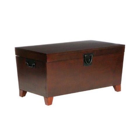 Image of SEI Pyramid Trunk Cocktail Table - zingydecor