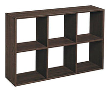 Load image into Gallery viewer, ClosetMaid 1581 Cubeicals Off-set Mini Organizer, Espresso - zingydecor