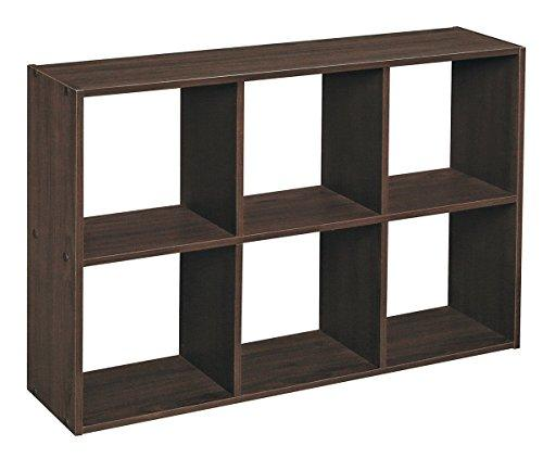 ClosetMaid 1581 Cubeicals Off-set Mini Organizer, Espresso - zingydecor