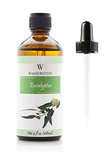 Aromatherapy Top 6 Oils 100% Pure Therapeutic Grade Basic Essential Oil Gift Set- 6x10 ML by Wasserstein (Lavender, Tea Tree, Eucalyptus, Lemongrass, Orange, Peppermint)
