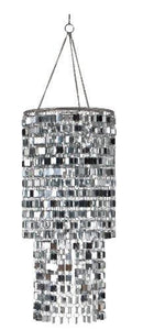 Wall Pops WPC96860 Ready-to-Hang Bling Chandelier, Icicles, 8.5 x 20 - zingydecor