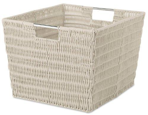 Whitmor Rattique Storage Tote