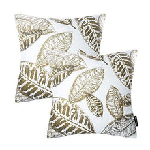 Load image into Gallery viewer, Phantoscope New Living Series Coffee Color Decorative Throw Pillow Case Cushion Cover Set of 4 - zingydecor