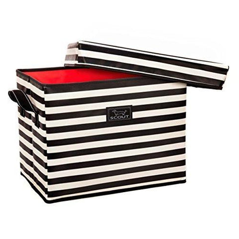 Image of SCOUT Rump Roost Medium Lidded Storage Bin - zingydecor