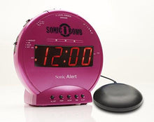 Load image into Gallery viewer, Sonic Alert SBB500SS Sonic Bomb Loud Dual Alarm Clock with Bed Shaker