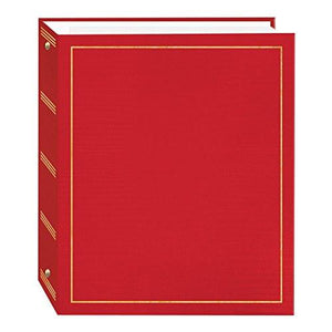 Magnetic Self-Stick 3-Ring Photo Album 100 Pages (50 Sheets)