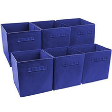 Load image into Gallery viewer, Sorbus Foldable Storage Cube Basket Bin, 6 Pack - zingydecor