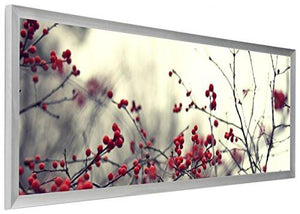 40 x 13.5 Panoramic Photo Frame for Wall Mount Use, 1-inch Profile, Aluminum - zingydecor