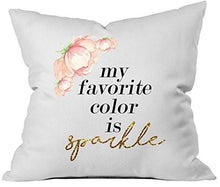 Load image into Gallery viewer, Bridal Shower Gift Tonight - Not Tonight Pillow Case By Oh, Susannah 18 x 18 Inch Throw Pillow Cover Bachelorette or Lingerie Party Gift - zingydecor