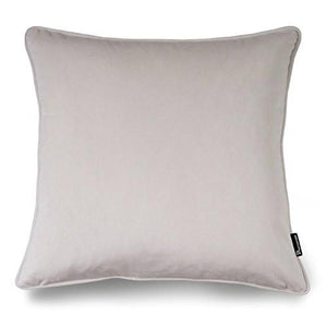"Phantoscope Decorative New Luxury Series Merino Style White Fur Throw Pillow Case Cushion Cover 18"" x 18"" 45cm x 45cm - zingydecor"