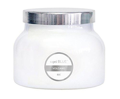 Image of Capri Blue CB705VOL Volcano Jar Candle, 20 Oz, White - zingydecor