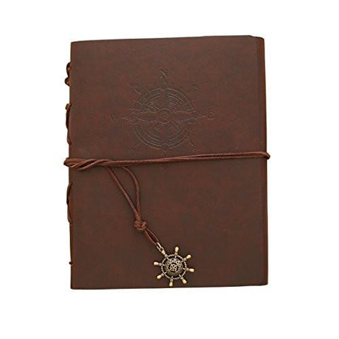 Image of Zoview Adhesive Scrapbook Photo Album Memory Book , 60 Pages Hand Made DIY Albums ,Dark Red