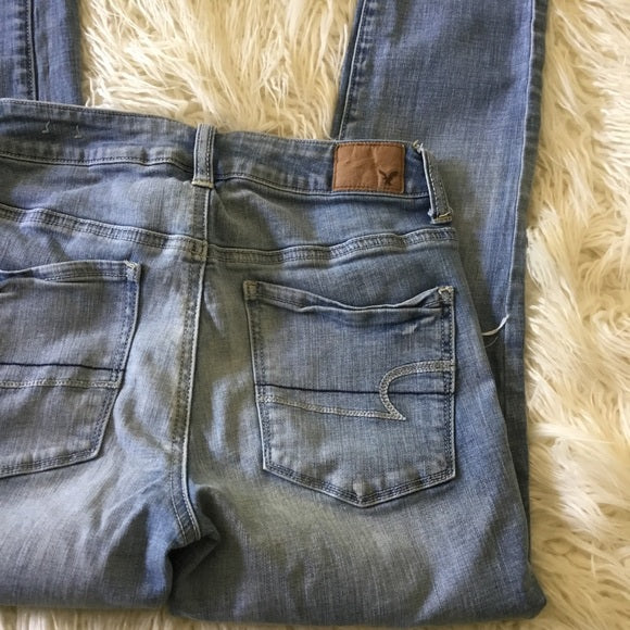 American Eagle Outfitters High Rise Skinny Jeans Size 4