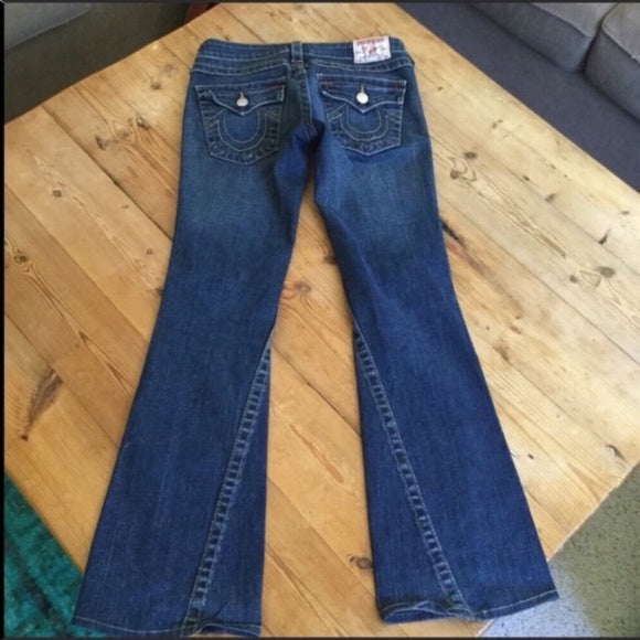 True a Religion Joey Twisted Flare Jeans Size 27