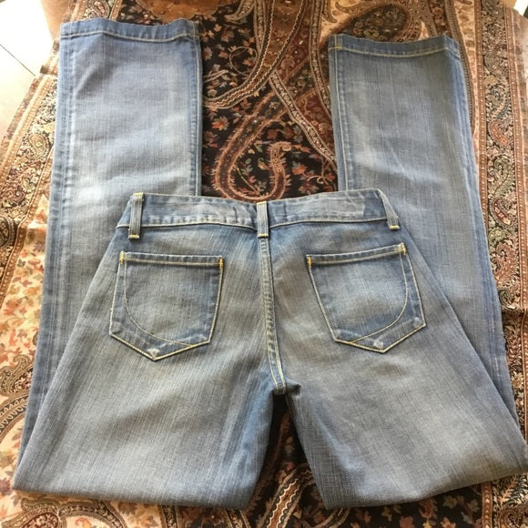 Paper Denim & Cloth 100% Cotton Boot Cut Jeans Size 25