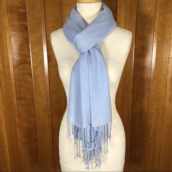 Periwinkle Blue Wrap Scarf