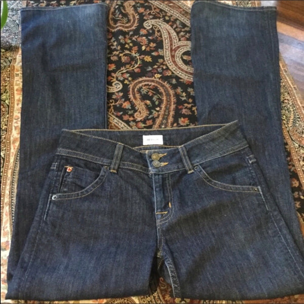 Hudson Signature Mid Rise Boot Cut Jeans Size 27